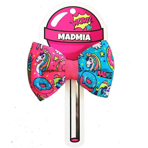 Mad Mia Pop Art Unicorn Bow
