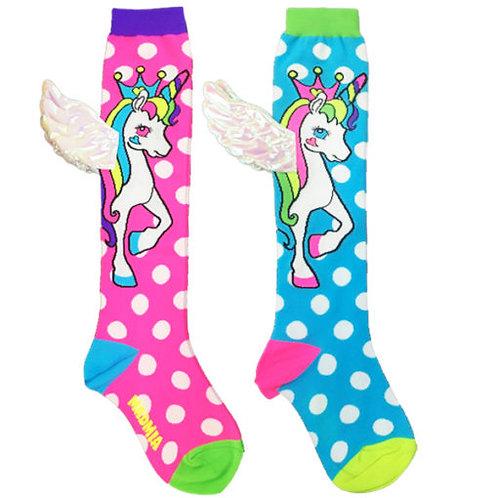 Flying unicorn Toddler Socks