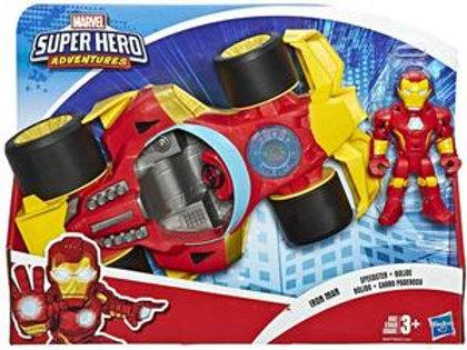 Avengers Super Hero Adventures Iron Man Deluxe Vehicle