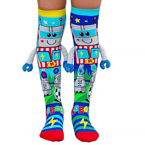 Robot Socks Toddler and Standard