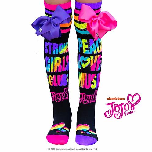 JoJo Peace, Love, Music Madmia socks Standard and Toddler