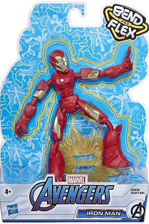 Avengers Bend and Flex Iron Man