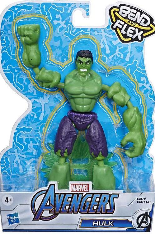 Avengers Bend and Flex Hulk