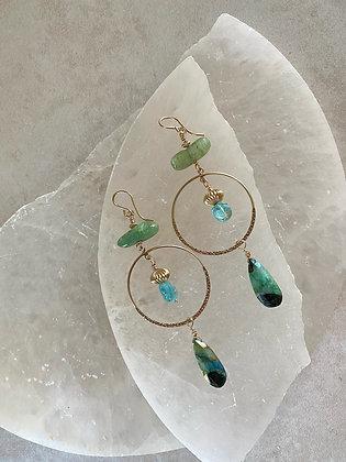 Peruvian Drop Earrings