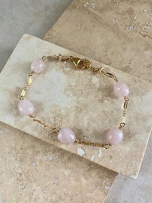 Rose Quartz Aeriella Bracelet