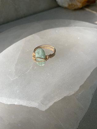 Green Kyanite Spa Ring