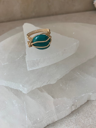 Smooth Turquoise Boutique Ring