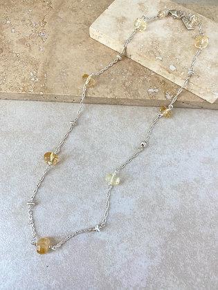 Citrine Aeriella Necklace