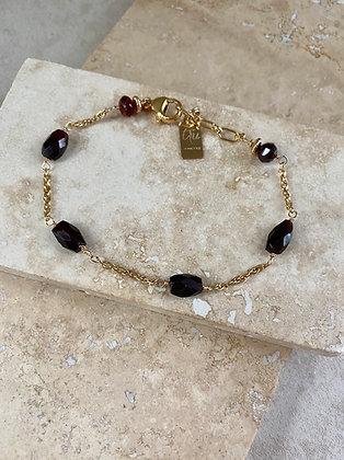 Garnet Aeriella Bracelet