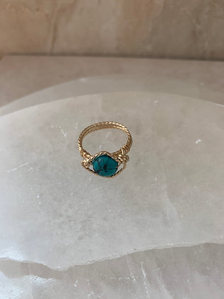 Turquoise Spa Ring