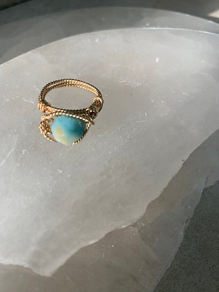 Amazonite Spa Ring