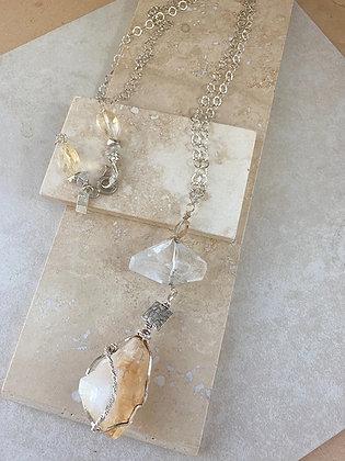 Sunpower Peace Necklace