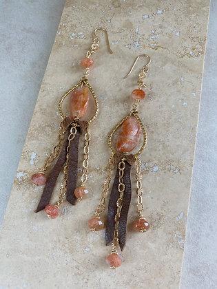 Western Sun Earrings