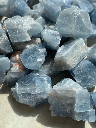 Blue Calcite Pocket
