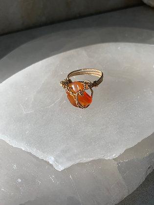 Carnelian Boutique Ring