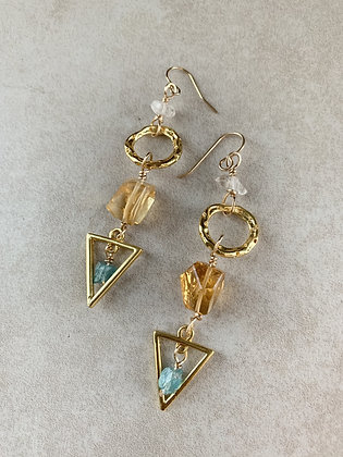 Warrior Peace Earrings