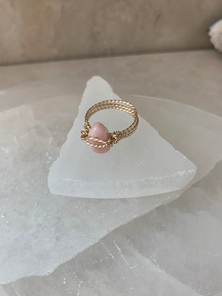 Pink Opal Spa Ring
