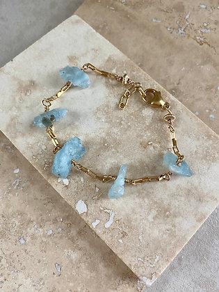 Aquamarine Aeriella Bracelet
