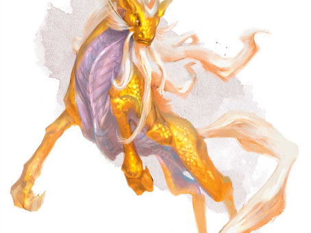 Fantastic Beast Profile:  Kirin