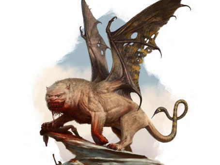 Fantastic Beast Profile:  Manticore