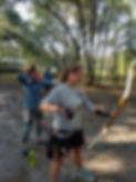 Woman archery lessons tampa
