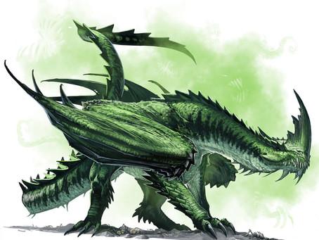 Fantastic Beast Profile:  Jabberwock
