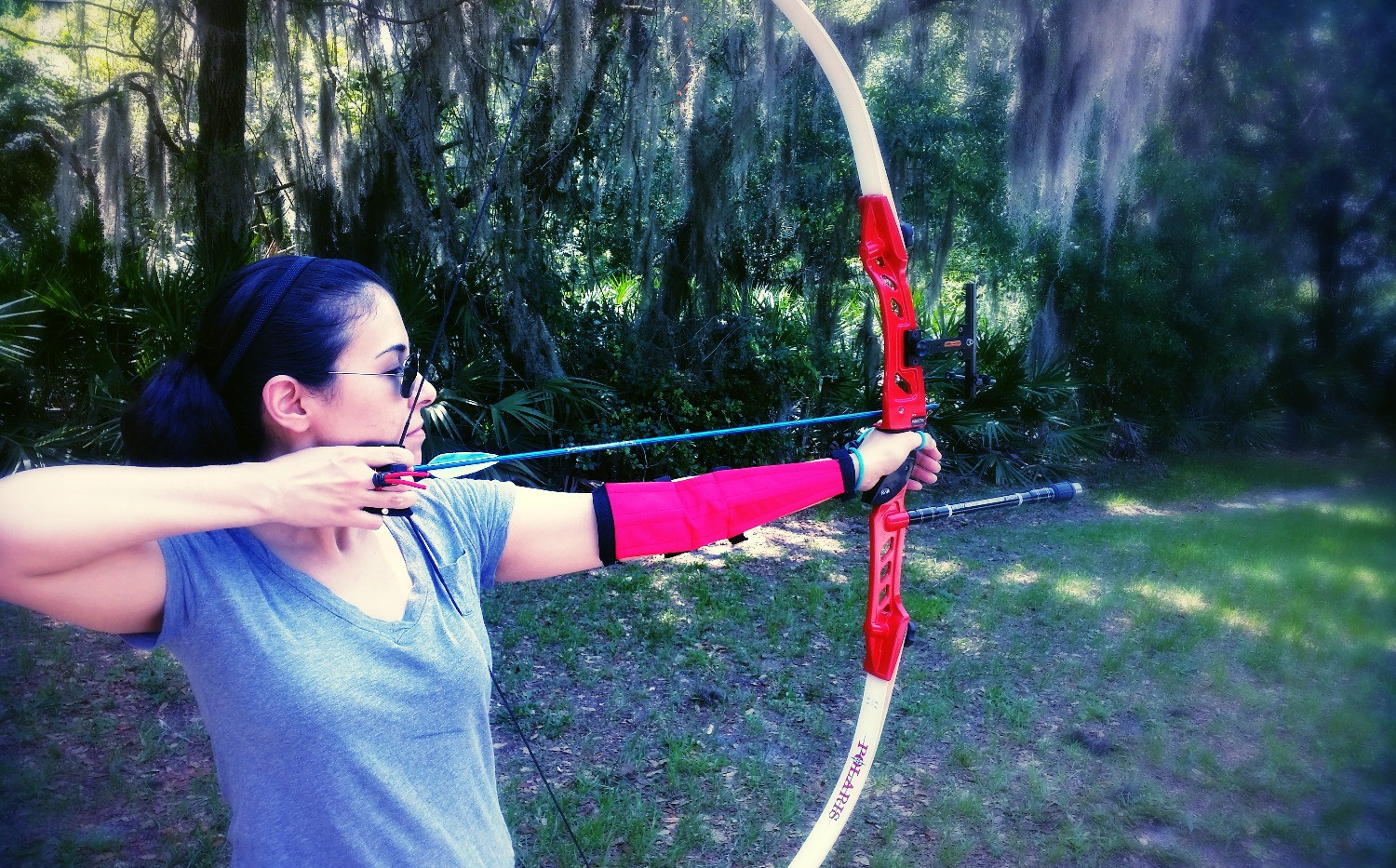 archery lessons tampa archery lake park_