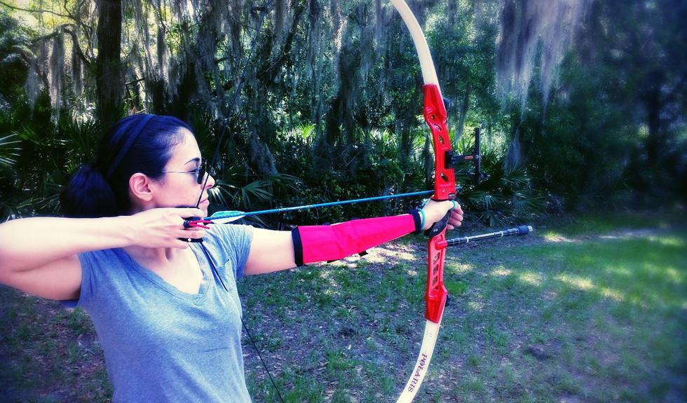 archery lessons tampa archery lake park_