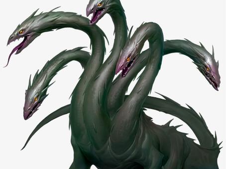 Fantastic Beast Profile:  Hydra