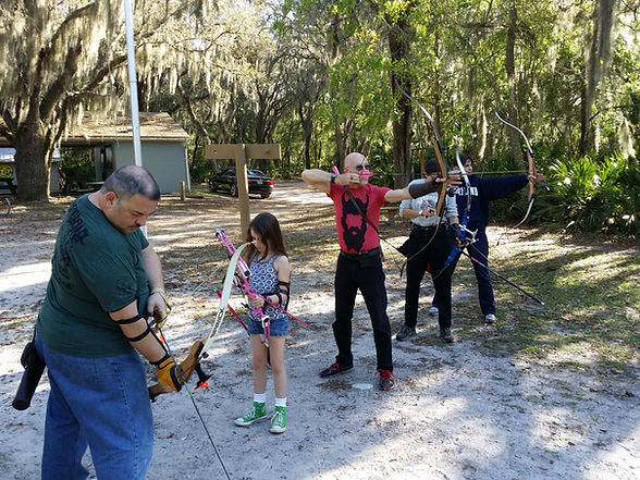 Archery lessons in Tampa, Florida