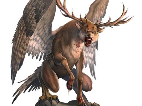 Fantastic Beast Profile:  Peryton