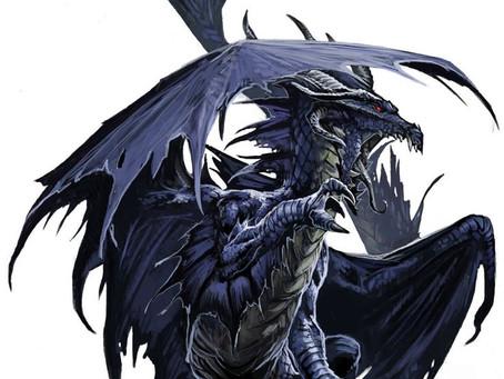 Fantastic Beast Profile:  European Dragon (Ebon Dragon)