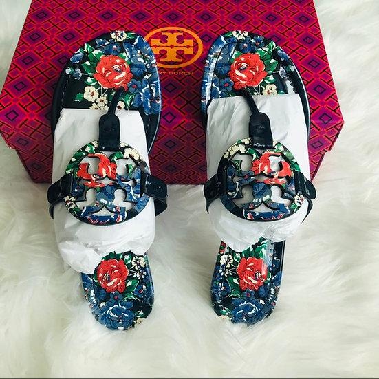 Tory Burch Miller Tea Rose Sandals