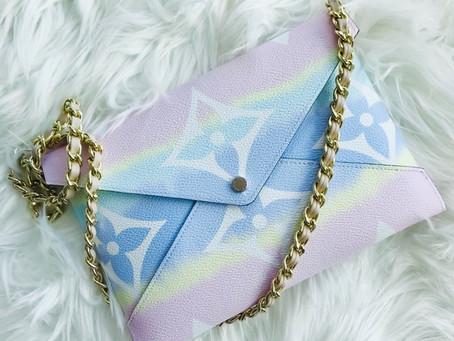 How To Turn Louis Vuitton Kirigami Into A Crossbody Bag