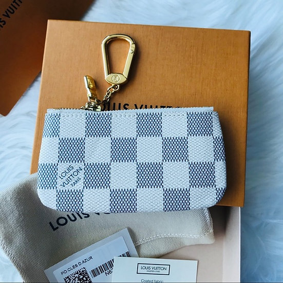 Louis Vuitton Damier Azur Key Pouch