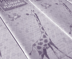 Pimpa. A girafa pensadora