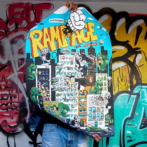Primeape RAMPAGE Poster