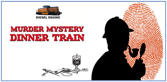 Murder Mystery Train Rides for 2017  at