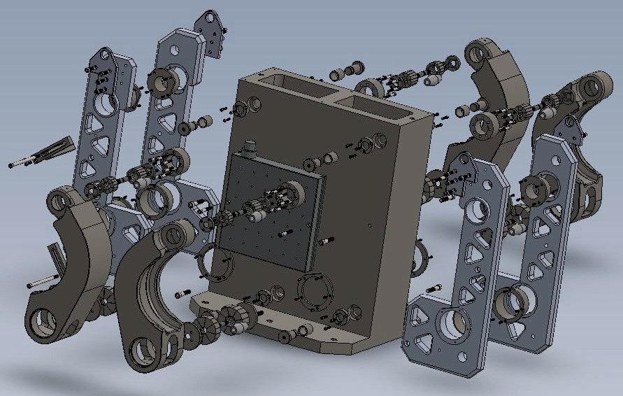M5 DESIGN & Build Complex Fixture