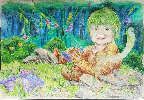 Fantasy kids' portraits!
