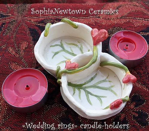 Romantic candle-hodler