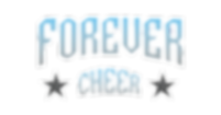 FOREVER CHEER_white outline (transparent