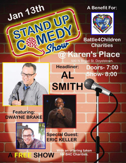 Comedy 2018 Flyer