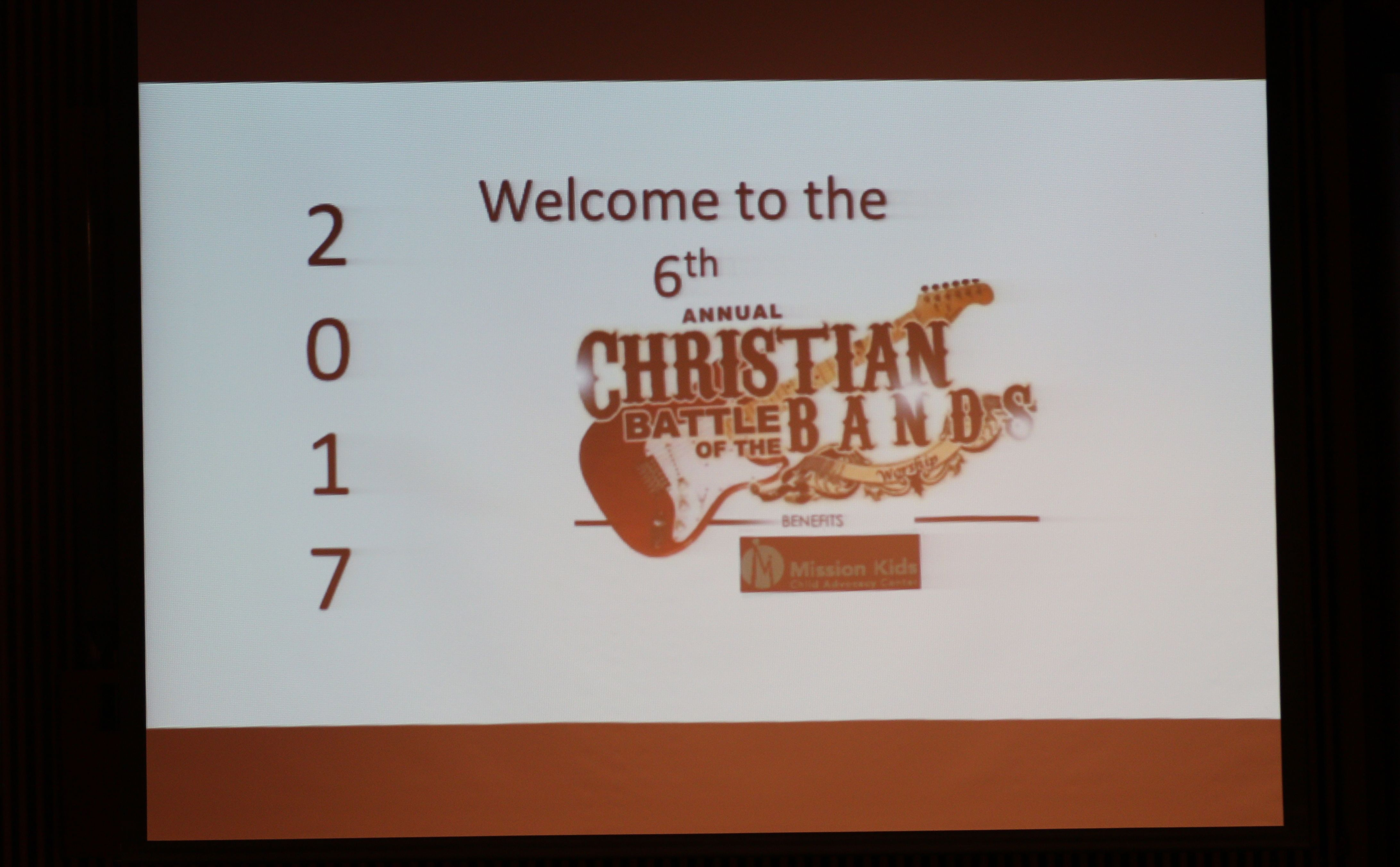 6th Annual Battle of Christian Bands