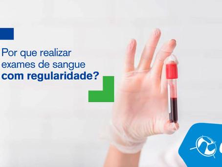 Por que realizar exames de sangue com regularidade?