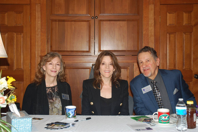 With Marianne WIlliamson & Michael.jpg