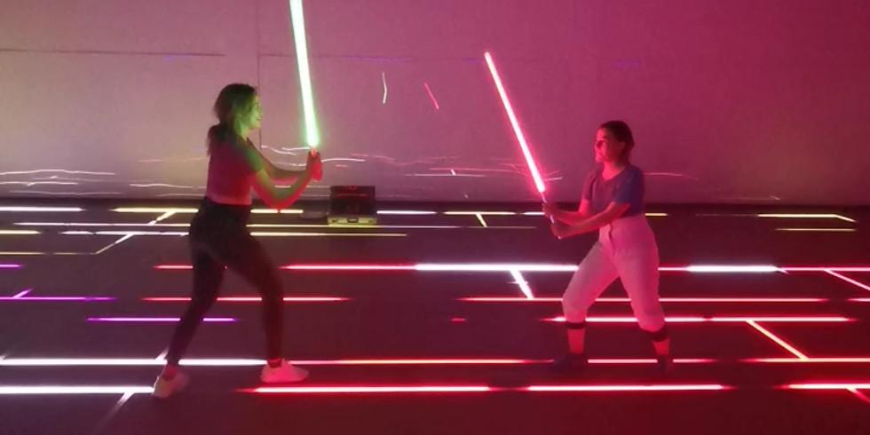 Light Sabre Choreography Experience