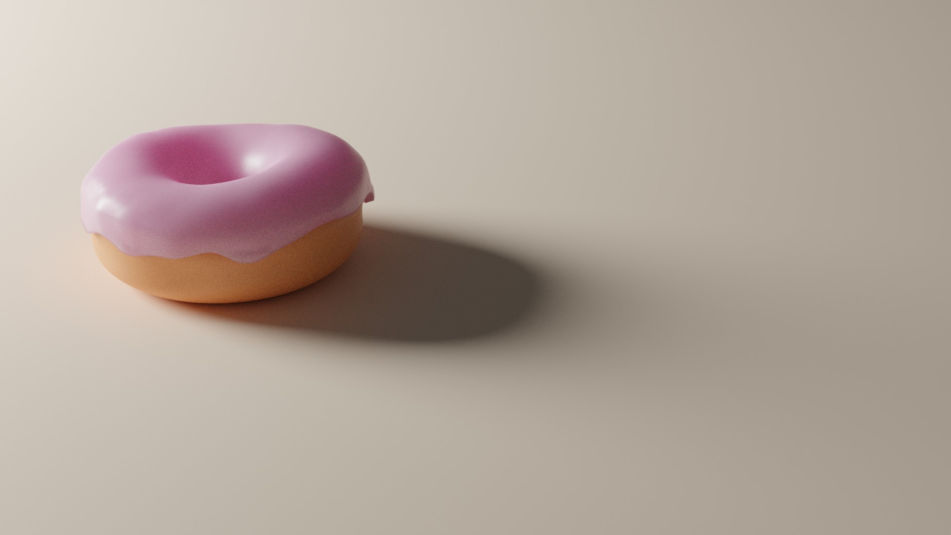 3 - Donut  - Second Render