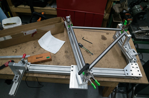 Checking Tube Fit in Jig