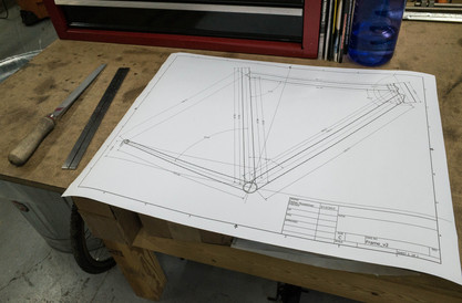 CAD Drawing - Frame Dimensions